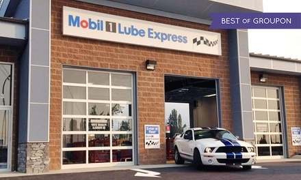 C$49.99 for One Standard Oil Change with Engine Flush at Mobil 1 Lube Express (C$72.97 Value)