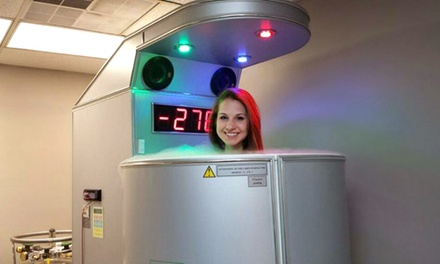 Three or Five Cryotherapy Sessions at Subzero Cryotherapy - Tyler (Up to 57% Off)