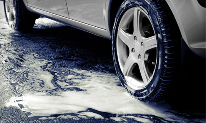 Auto Shine Carwash - Multiple Locations: One Full-Service Car Wash or One Month of Unlimited Full-Service Car Washes at Auto Shine Carwash (Up to 60% Off)