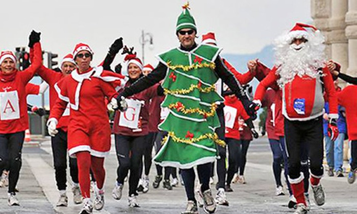 The Sweater Dash - Pleasanton: $26 for One Entry for a Holiday 5K from The Sweater Dash on Saturday, December 7 (Up to $52 Value)