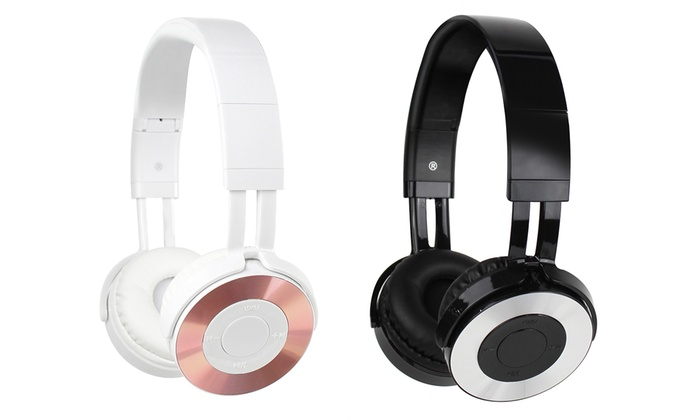 Up To 62 Off On Aduro Bluetooth Headphones Groupon Goods