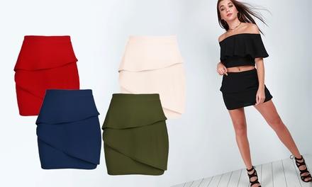 Hustler micro mini skirt