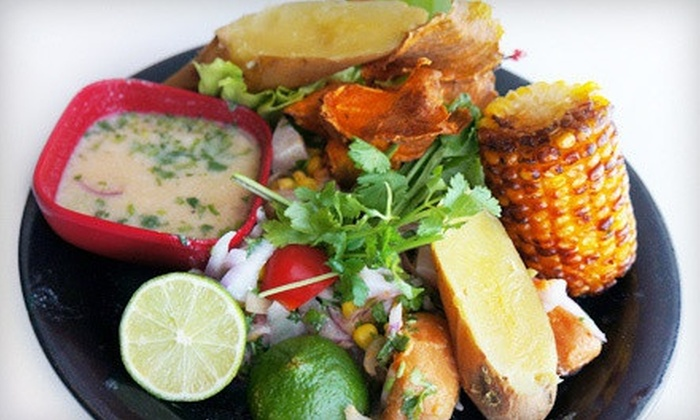 El Ceviche De Waldito - El Ceviche De Waldito : Peruvian Entrees at Dinner for Two or Four at El Ceviche De Waldito (Up to 52% Off)