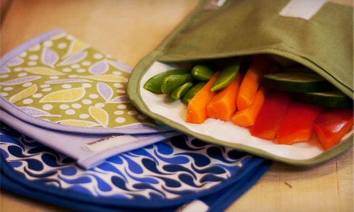 ReUsies: $15 for $30 Worth of Reusable Snack and Sandwich Bags from ReUsies