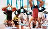 Sacred Sounds Yoga - West Village: One or Three Months of Unlimited Yoga or 5 Pre- or Postnatal Classes at Sacred Sounds Yoga (Up to 69% Off)