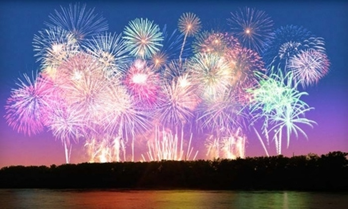 KCRiverFest - River Market: KCRiverFest Concerts and Fireworks for Four, Six, or Eight at Berkley Riverfront Park on July 4 (Up to Half Off)