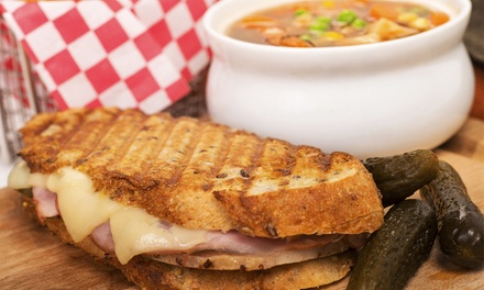 $12 for $25 Worth of Sandwiches, Salads, and Barbecue at Express Gourmet