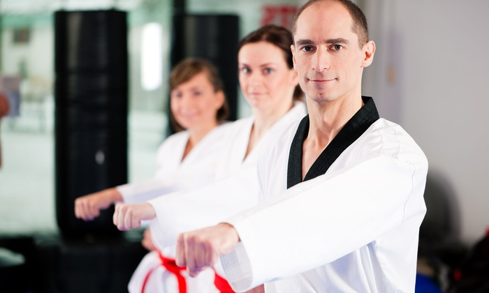 Master K. Kim's World Class Tae Kwon Do - West Chester: Two or Four Weeks of Tae Kwon Do Classes at Master K. Kim's World Class Tae Kwon Do (Up to 94% Off)