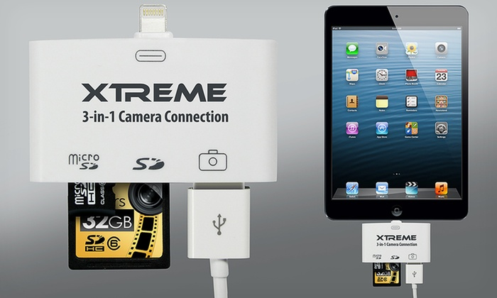 Xtreme Camera Connection Kits: Xtreme 2-in-1 or 3-in-1 Camera Connection Kits (Up to Half Off). Free Returns.