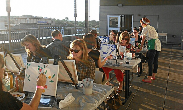 VisArts - Central Rockville: $22 for a Painting Under the Stars Class at VisArts  ($45 Value)