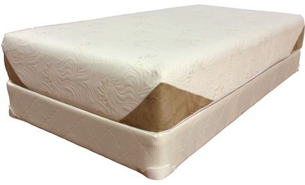 Twin, Double, Queen, or King ViscoLogic Gel Memory-Foam Mattress at MattressDirect.ca (Up to 73% Off)