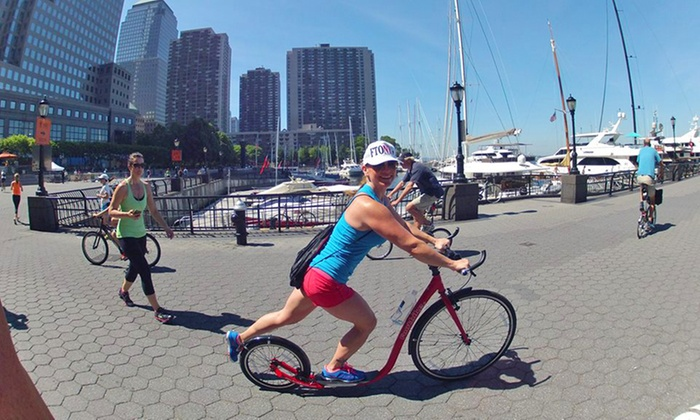 Fitness Tours of NY - Manhattan: Footbiking Fitness Tour for One, Two, or Six from Fitness Tours of NY (Up to 79% Off)