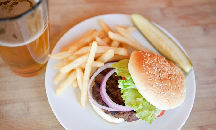 CANZ Roadhouse - East Garden City: $25 for $50 Worth of Sports-Bar Food at CANZ Roadhouse