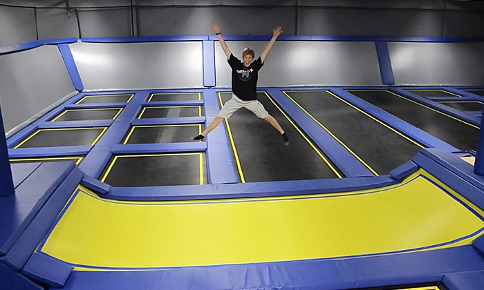 Springs Trampoline Park - Colorado Springs: Hour of Jump Time for Two or Four, or a Birthday Party for 5-10 at Springs Trampoline Park (Up to 50% Off)