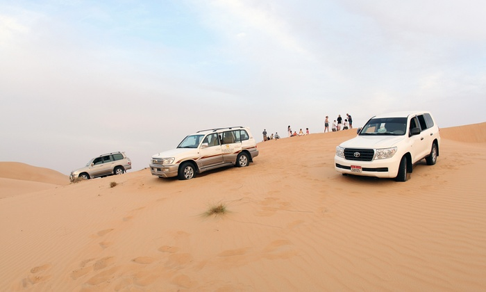Al Badeyah Eyes Tourism - Al Badeyah Eyes Tourism: Half-Day Desert Safari with Quad Biking for Up to 20 Adults with Al Badeyah Eyes Tourism (Up to 58% Off)