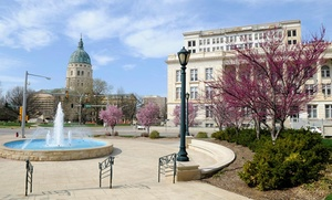 Capitol Plaza Hotel-Topeka: Stay at Capitol Plaza Hotel-Topeka in Topeka, KS. Dates Available Into September.