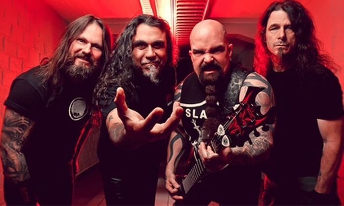 Slayer - Toyota Oakdale Theatre: $35 to See Slayer at Toyota Oakdale Theatre on November 26 at 7:30 p.m. (Up to $75 Value)