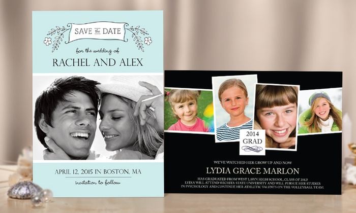 Cherishables: Custom Photo Greeting Cards from Cherishables (Up to 66% Off). Two Options Available.
