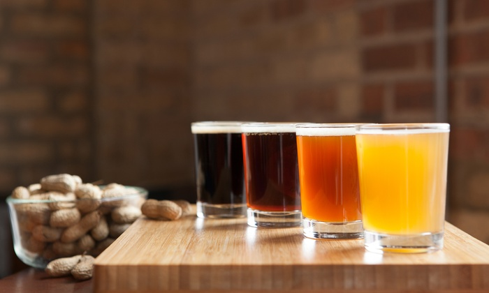 World of Beer - Evanston - Chicago: Beer School with a 10-Beer Flight and Sharable Appetizers for One or Two at World of Beer - Evanston (50% Off)
