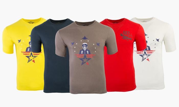 Avirex T Avx Uomo Shirt Goods Da DeptGroupon qMGUSzVp
