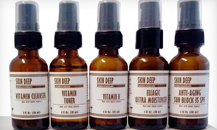 Studio Skin Deep: Organic Oily/Acne Skin Kit or Organic Anti-Aging Skin Kit from Studio Skin Deep in New Smyrna Beach (Up to 70% Off)