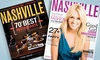 "Nashville Lifestyles: One- or Two-Year Digital Subscription to ""Nashville Lifestyles"" Magazine (Up to 50% Off)"