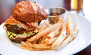 The Davis Graduate: $20 for Two Burgers and Two Draft Beers or Soft Drinks at The Davis Graduate (Up to $36 Value)