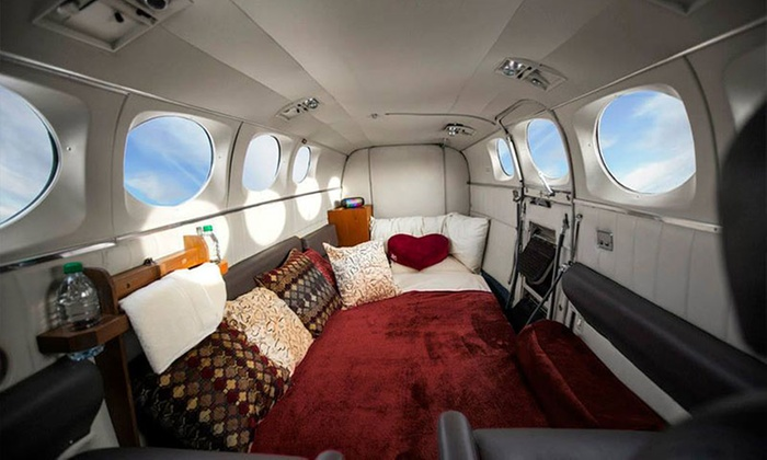 Love Cloud - Love Cloud: $750 for a 60-Minute Romance Flight for Two Above Las Vegas from Love Cloud Vegas