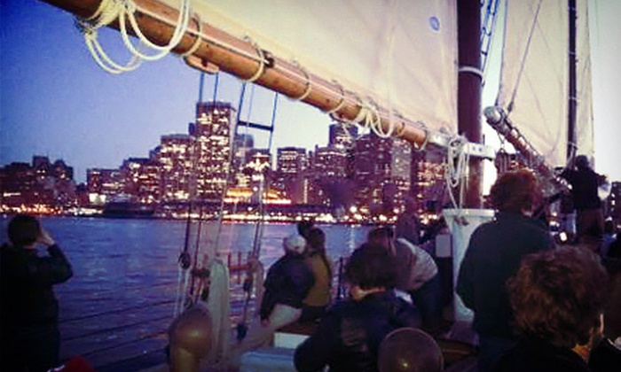 SF Bay Adventures - Freda B: $29 for a Two-Hour City Lights Sail from SF Bay Adventures ($59 Value)