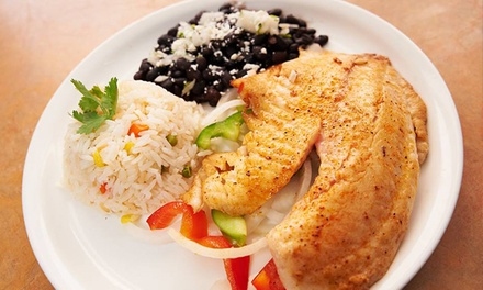 Dinner at Acapulcos Mexican Family Restaurant & Cantina (40% Off).  11 Locations Available.