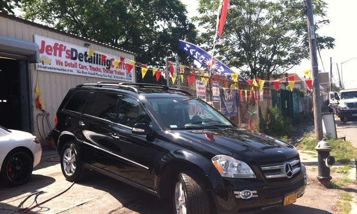 Jeff's Detailing Center - Lindenwood: Detail with Paint-Correction Service from Jeff's Detailing Center (45% Off)