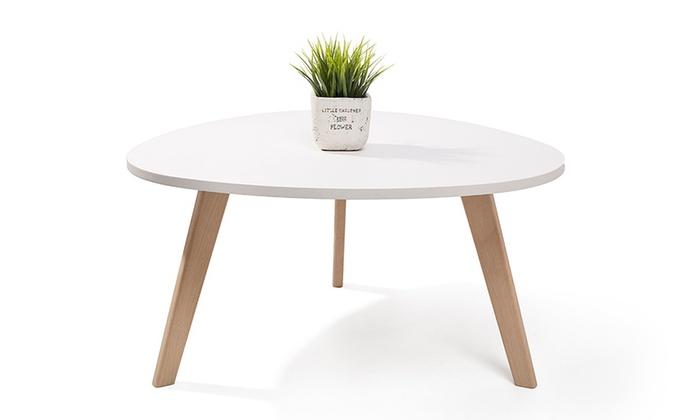 Jusqu 39 55 table basse homekraft groupon for Groupon table basse