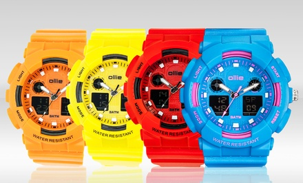 Ollie Men's Storm Analog-Digital and Shark Digital Watches. Multiple Colors Available. Free Returns.