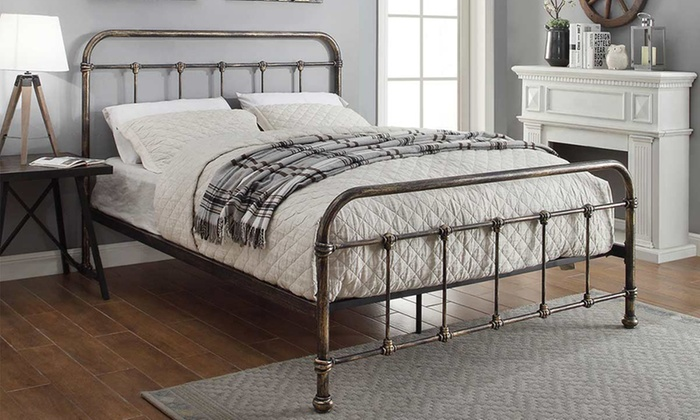 Up To 62 Off Burford Antique Style Bed Groupon