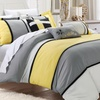 Joyce Embroidered 6-Piece Comforter Sets