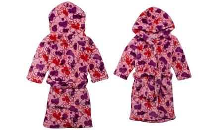 Playshoes Children's Fleece Hooded Bathrobe for £4.99