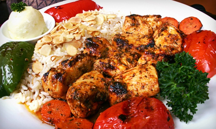 La Marsa - Multiple Locations: Mediterranean Cuisine at La Marsa (Half Off). Two Options Available.