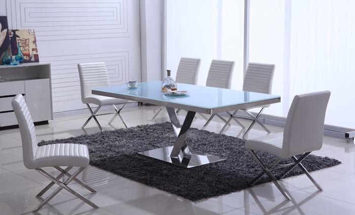Design Tafel Met 6 Stoelen.Dinertafel Met Stoelen Groupon