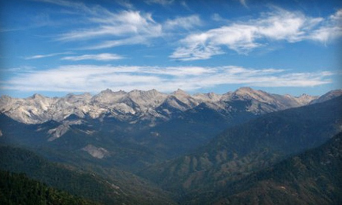 Sequoia Shuttle - Multiple Locations: $7 for Round-Trip Shuttle Ride to Sequoia National Park with Park Entry from Sequoia Shuttle ($15 Value)
