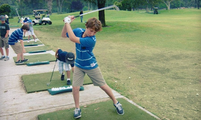 Fore Kids Golf Academy at Brookside Golf Club - Fore Kids Golf Brookside Golf Course: $95 for One Week of Kids Golf Camp at Fore Kids Golf Academy at Brookside Golf Club in Pasadena ($195 Value)