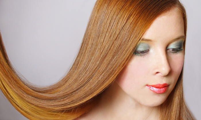 M22 Hair Design - Nonantum: Haircut with Optional Highlights, Color, or Conditioning, or Keratin Treatment at M22 Hair Design (Up to 60% Off)
