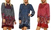Embroidered Sweater Dresses: Embroidered Sweater Dresses