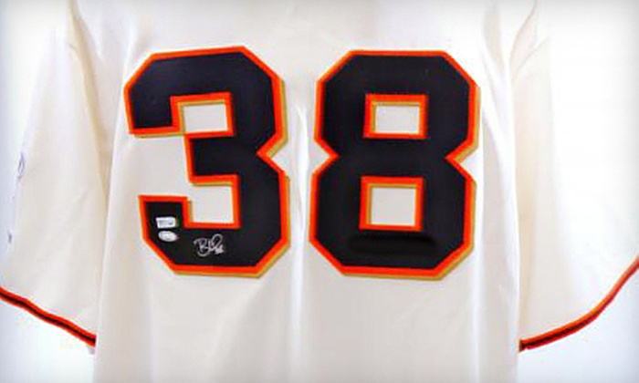 Powers Collectibles: $199 for Autographed Brian Wilson 2010 World Series Giants Jersey with Shipping from Powers Collectibles ($508.95 Value)