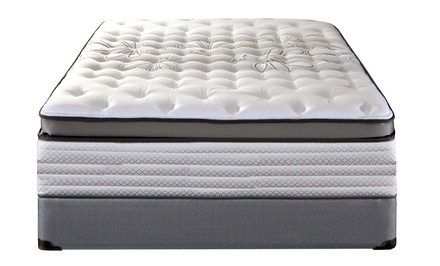 Queen or King Sealy Memory-Foam Pocket Coils Mattresses at LA Mattress (80% Off)