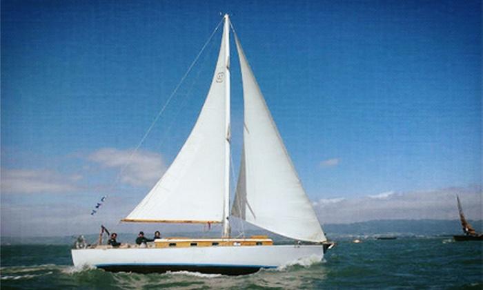 Capt. Dan Classic Sails - Berkeley Marina: Sailing Trip from Capt. Dan Classic Sails (Up to 51% Off). Seven Options Available.