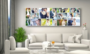 CanvasJet.com: Panorama Collage Canvas Print in Choice of Size from CanvasJet.com (Up to 72% Off)