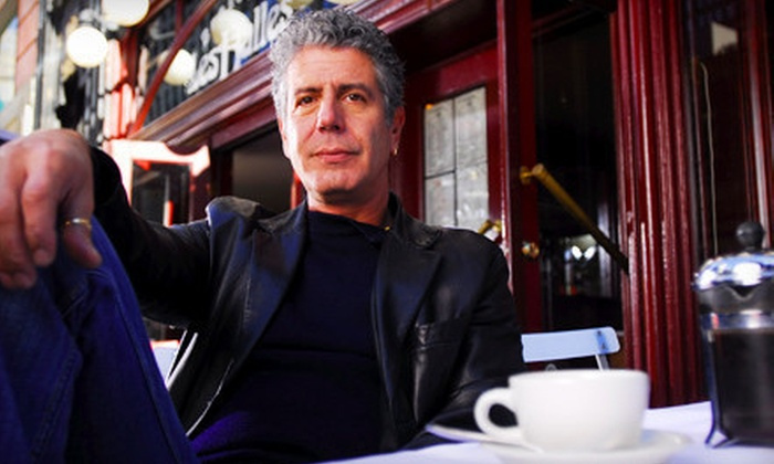 Guts and Glory: An Evening with Anthony Bourdain - Uptown Broadway: Guts and Glory: An Evening with Anthony Bourdain at Laurie Auditorium on November 8 at 7:30 p.m.
