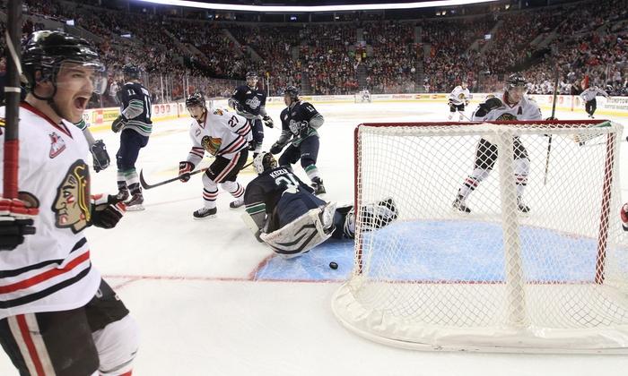 Portland Winterhawks - Moda Center: $19 for  a Portland Winterhawks Hockey Game on September 20, 27, or 28 at Moda Center ($31 Value)