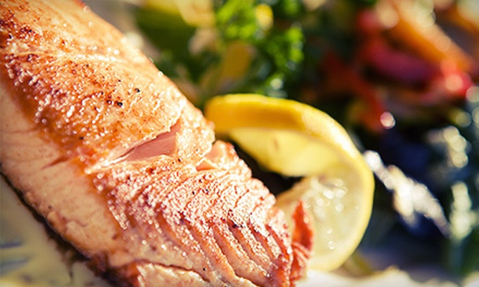 East of Eighth - Chelsea: $32 for a Four-Course Bistro Dinner for Two at East of Eighth (Up to $77 Value)