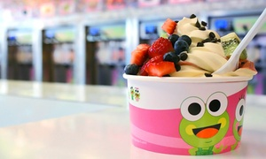 Sweet Frog: Frozen Yogurt and Toppings at Sweet Frog (42% Off). Two Options Available.